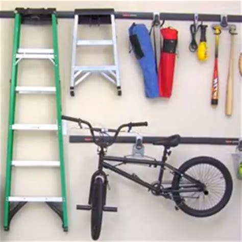 Rubbermaid Bike Rack by Rubbermaid Fast Track Garage Organization