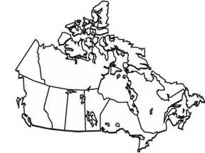 free map of canada coloring pages