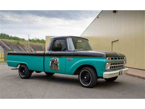 1965 Ford F100 by 1965 Ford F100 For Sale Classiccars Cc 710779