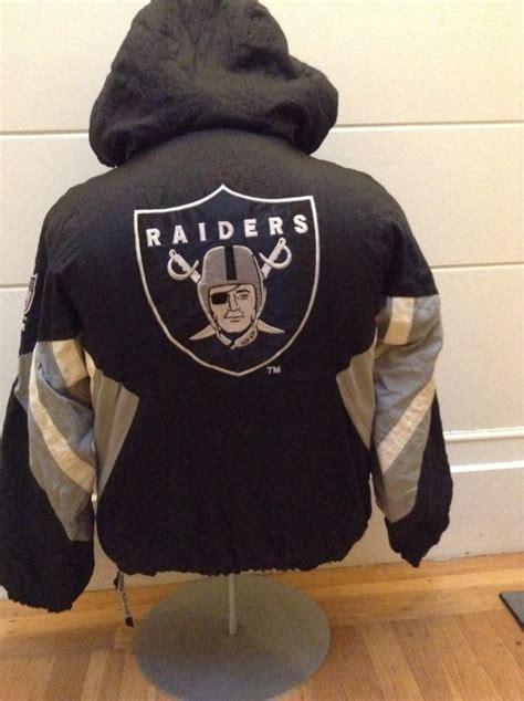 Jaket B Bross vintage oakland raiders starter jacket oakland raiders