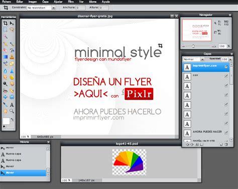 crear imagenes minimalistas online dise 241 ar flyer gratis 191 c 243 mo hacer un flyer o cartel