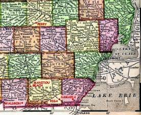 Southeast Michigan Map by South East Michigan