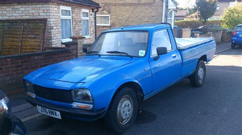 peugeot 504 pickup spotted for sale peugeot 504 pick up st ives