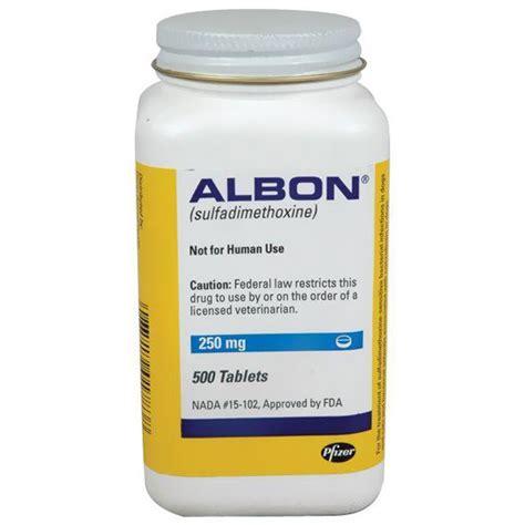 albon for dogs albon tablets 250mg per tab