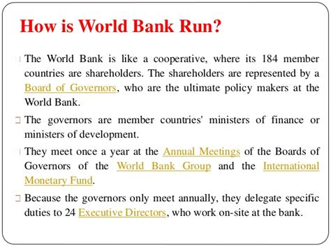 world bank site ppt on world bank