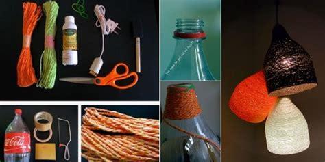 designer paper yarn lamp step  step diy