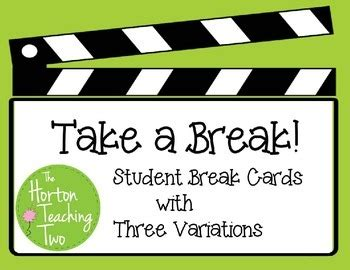 take a card template take a student cards by the horton teaching