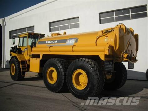 volvo ac   water tank articulated dump truck adt year   sale mascus usa