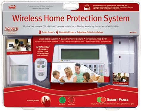 sabre wp 100sabre wireless home protection system