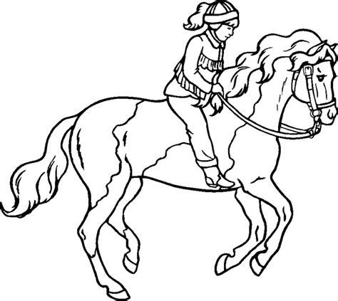 horse jumping coloring pages coloring home