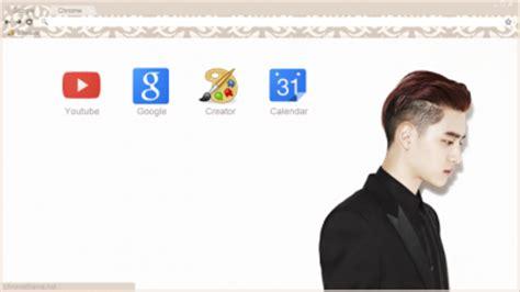 theme google chrome luhan exo chibi exo growl chrome theme themebeta