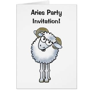 Aries Birthday Cards Aries Birthday Cards Photo Card Templates Invitations More