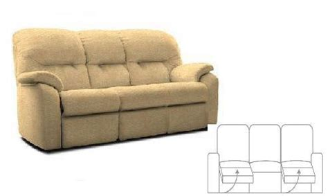 g plan sofas prices g plan mistral three seater double power recliner sofa at