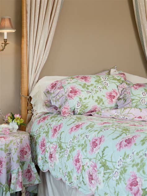 april cornell bedding rose nouveau quilt aqua bedding beautiful designs by