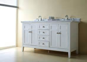 reni white double vanity bathroom vanities and sink