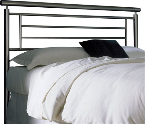 fashion bed chatham metal headboard in satin metal finish