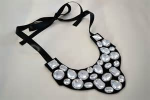 how to make a jewel bib necklace craft little miss momma