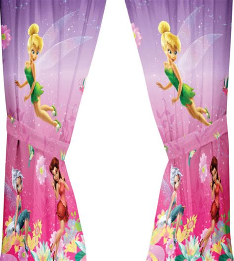 Tinkerbell Valance disney tinkerbell drapes be yourself window curtains contemporary curtains by obedding