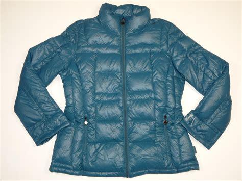 light packable down jacket new women s calvin klein premium down packable lightweight