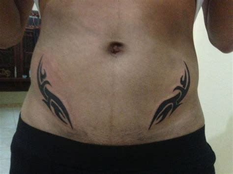 pelvic tattoos for men 35 awesome tribal tattoos on hips