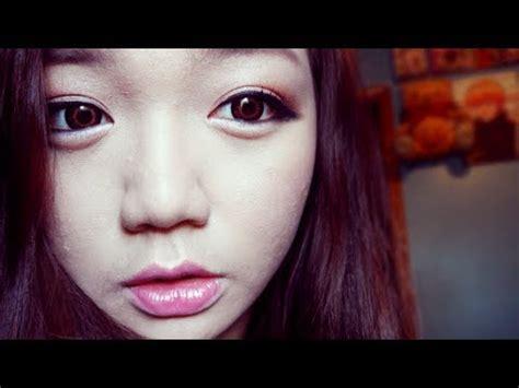 Tutorial Makeup Ulzzang Korean | tutorial korean ulzzang makeup youtube