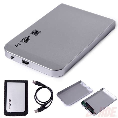 Disk External 500gb Usb 2 0 silver usb 2 0 sata 2 5 quot portable hdd disk drive