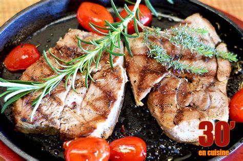 cuisiner le gigot d agneau tranches de gigot d agneau aux herbes de provence 30