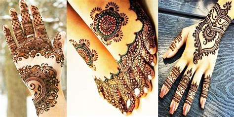 latest mehndi designs for pakistani weddings 2018