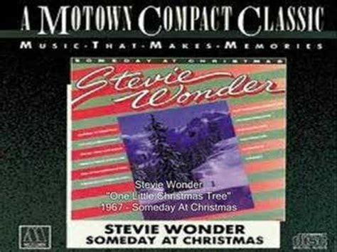 stevie wonder one little christmas tree youtube
