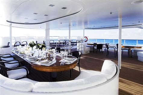 dinner on a boat miami miami party boat charters and yacht wedding rentals in