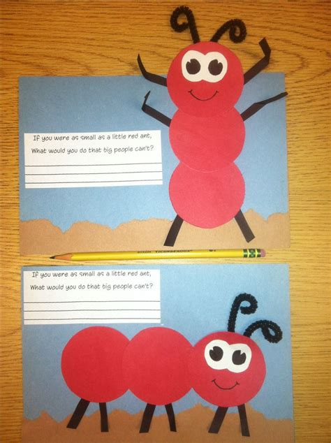 ant craft for construction paper ant craft craft ideas