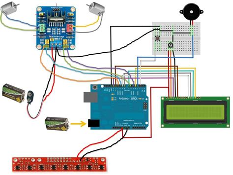 schematic arduino robot schematic free engine image for