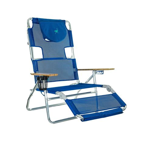Ostrich 3 In 1 Chair - deltess ostrich 3 in 1 blue aluminum folding chair