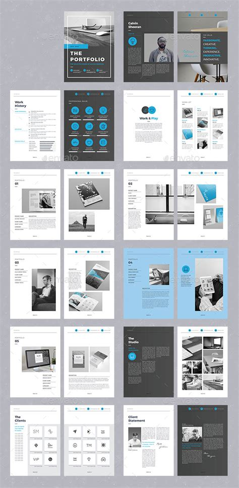 25 Really Awesome Portfolio Brochure Templates Web Graphic Design Bashooka Awesome Brochure Templates