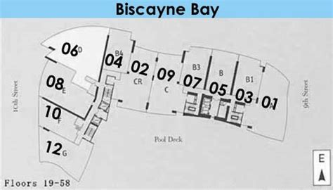 900 Biscayne Floor Plans | 900 biscayne bay condos for sale