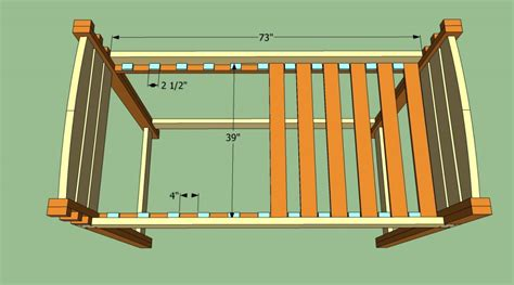 Bunk Bed Support Slats How To Build A Loft Bed With Stairs Howtospecialist How To Build Step By Step Diy Plans
