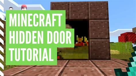 hidden door  minecraft minecraft hidden