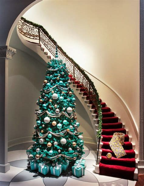 turquoise christmas inspiration style estate