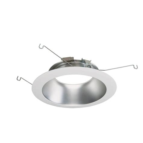 Led Recessed Ceiling Light Halo Ml 6 In White Led Recessed Ceiling Light Attachable Module Trim 692h The Home Depot