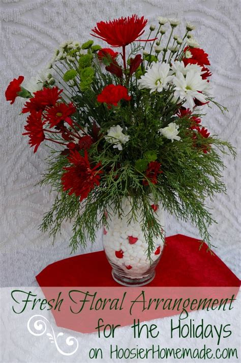 floral arrangments or when words fail say it with flowers decor ideas pinterest flower fresh floral arrangement for the holidays hoosier homemade