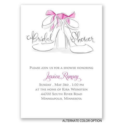david s bridal wedding invitation coupon code wedding shoes mini bridal shower invitation invitations