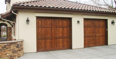 Different Styles Of Garage Doors by Wood Garage Door Styles Options Denver Boulder Golden