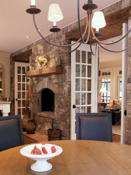Fireplace Between Dining Room And Living Room Between Dining Room And Living Room Larger Fireplace With