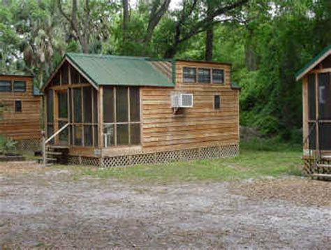 Florida Cgrounds With Cabins by Vacation Mountain Cabin Rental In Astor Florida St