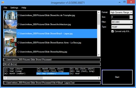 format file hdr convert images to hdr exr tiff and more with imagenator