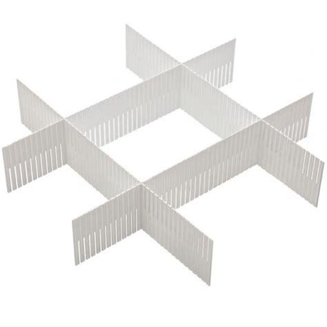 divisorio per cassetti divisorio per cassetti set divisore 3 pezzi separatore in