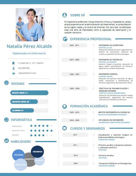 Plantilla De Curriculum Medico curriculum de m 233 dicos enfermeras plantillas de cv