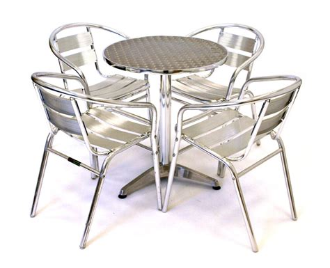 cheap outdoor table and chairs aluminium bistro furniture aluminium bistro set cheap