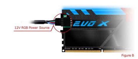 ddr4 ram with led lights geil puts rgb leds on ddr4 memory