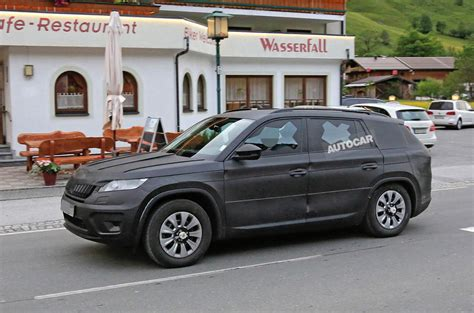 skoda kodiaq black 2017 skoda kodiaq official new teaser pictures and video